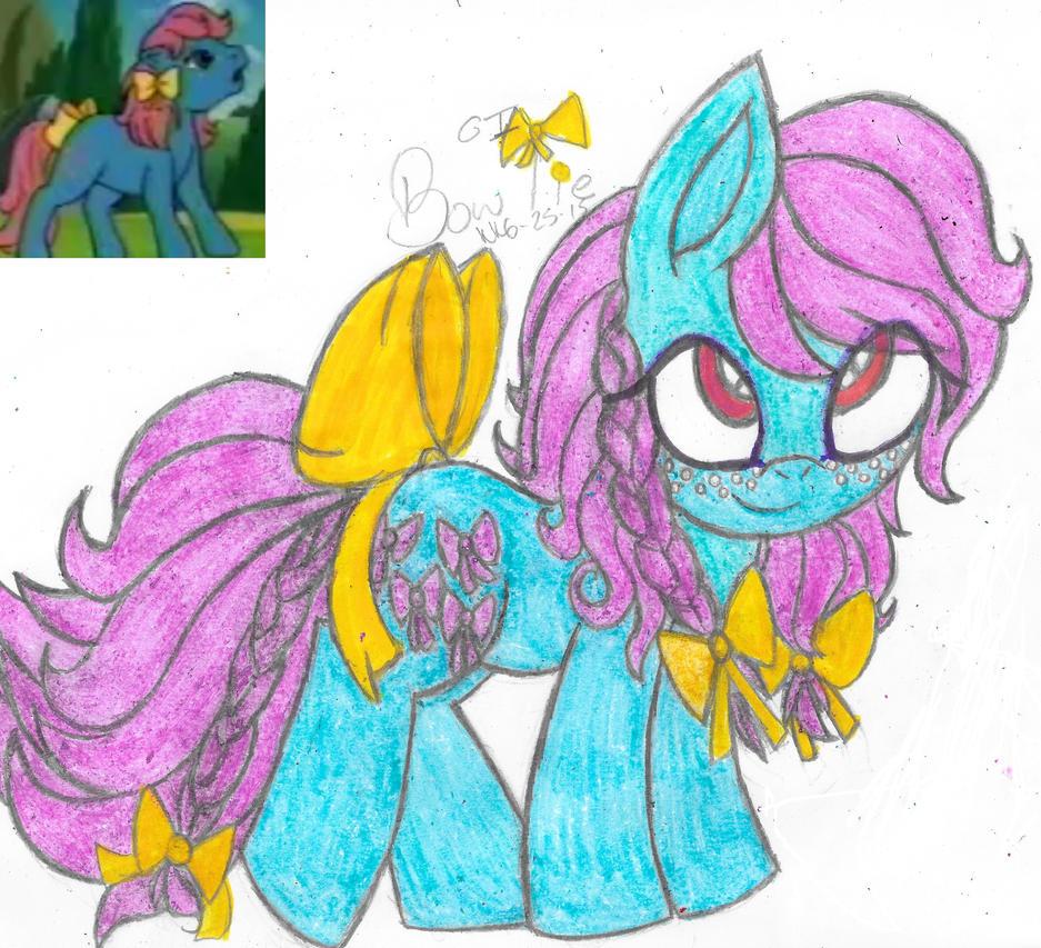 My Little Flashback- Bow Tie (G1) by Phoenix-Skywriter