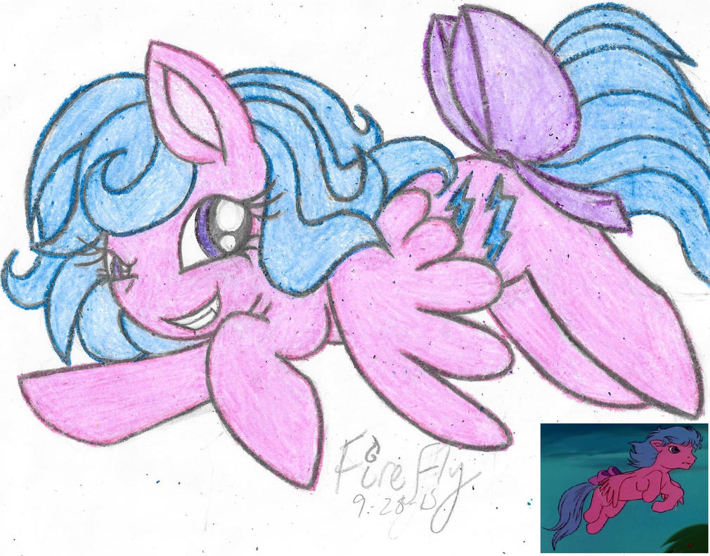 My Little Flashback- Firefly (G1) by Phoenix-Skywriter