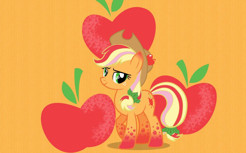 Applejack Wallpaper by Melbunnie24