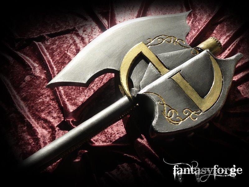LARP Weapon: Custom axe 2 by FantasyForgeLARP on DeviantArt