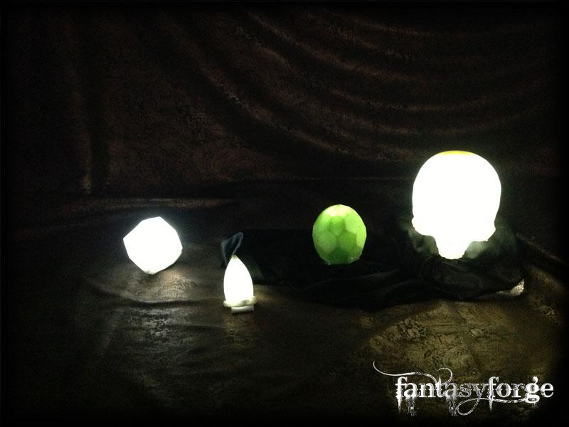 LARP: Safety Bright Crystal set I by FantasyForgeLARP