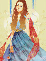 Margeary Tyrell - Game of Thrones by venquian