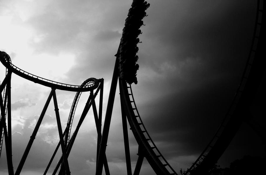 dark roller coaster by berry94y