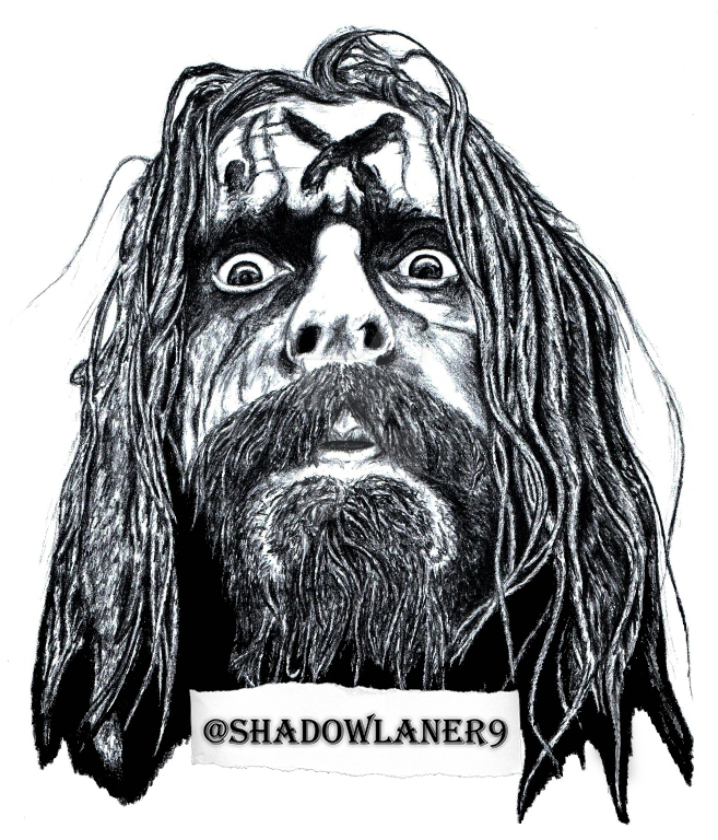 Rob Zombie Art By Shadowlander9 On Deviantart