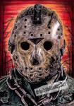 Jason Voorhees Friday the 13th drawing