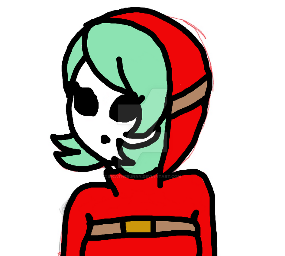 Shy guy girl