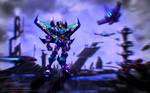 Fall of Cybertron-Thundercracker by JBaulmont