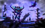Fall of Cybertron-Thundercracker by JBaulmont
