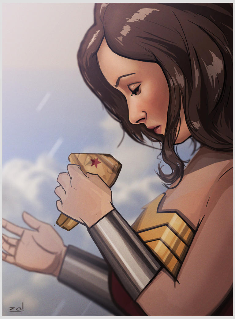 What's the point- Wonder Woman by zalxemptyx