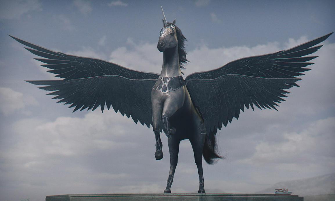 Pegasus by zalxemptyx