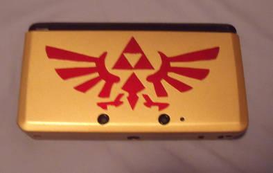 Zelda Crest 3DS cover by MorganTheAdventurer