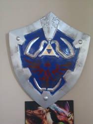 Hylian Shield v2 by MorganTheAdventurer