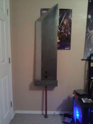 Cloud's Buster Sword by MorganTheAdventurer
