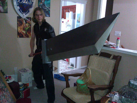 Cloud Strife Haloween Costume