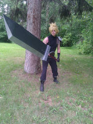 Cloud Strife WIP