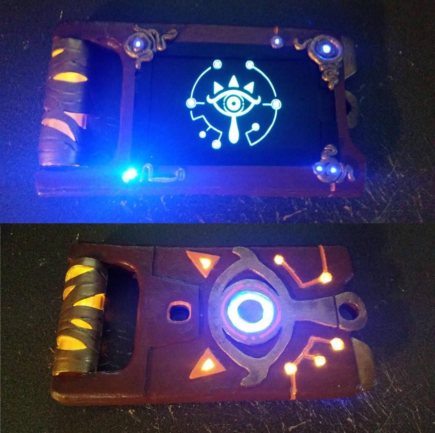 BoTW Sheikah Slate prop/phone case by MorganTheAdventurer