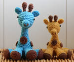 Amigurumi Giraffes