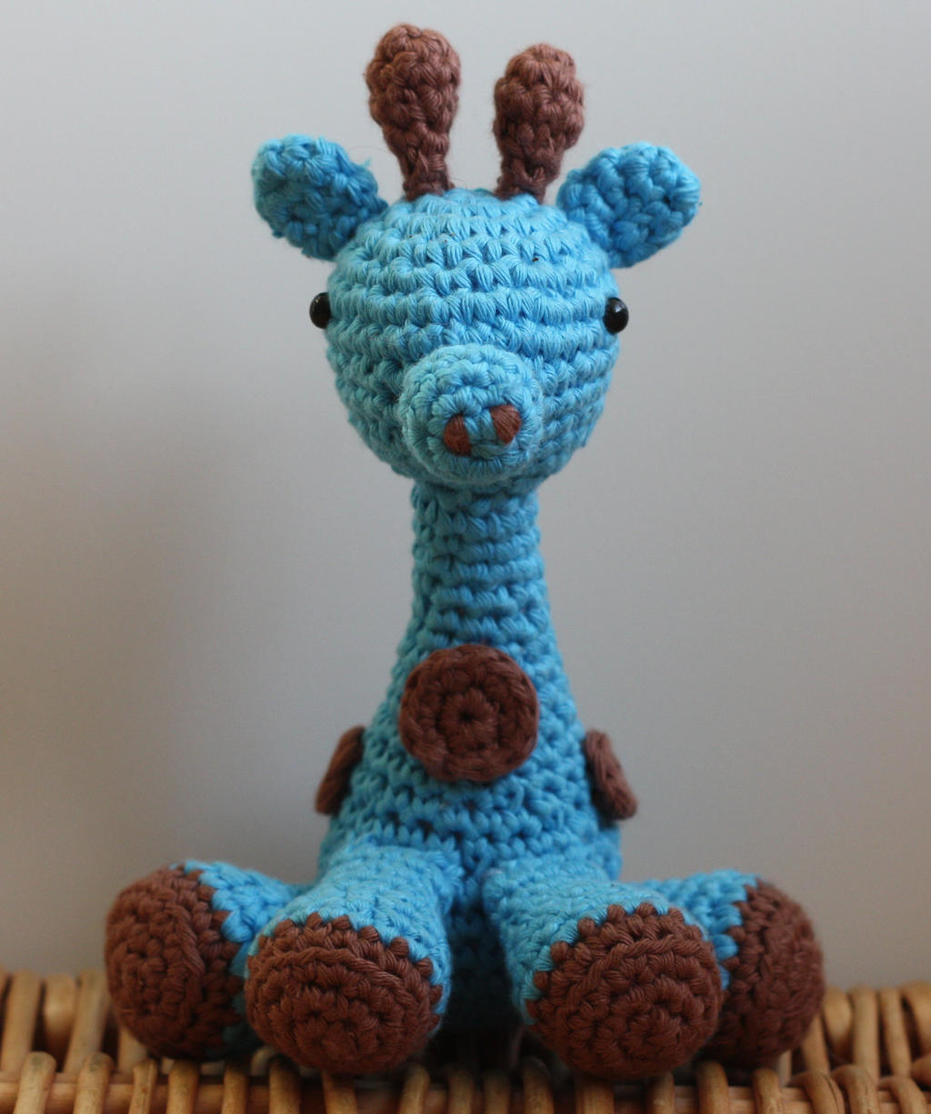 Amigurumi Hello Kitty Collection 1 : Blue Giraffe (Crochet -- amigurumi) by matandhelen on ...