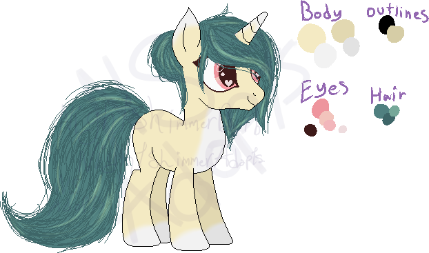 MLP Foresty Unicorn Adopt {Open} {Crosspost} by NightshimmerBirb