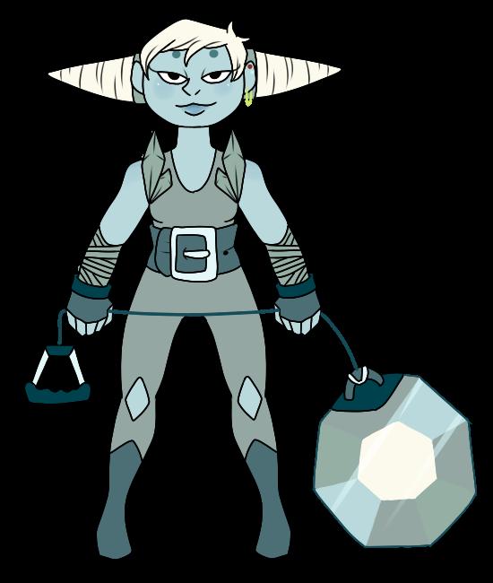 Steven Universe Oc: Diamond by Ask-Poison-Princess