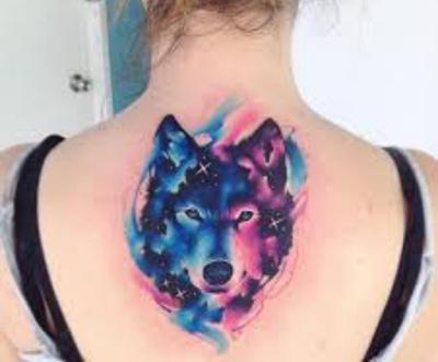 Selestial Wolf by CreativeWolf1223