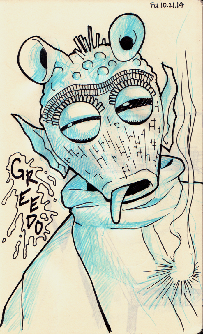 Day 21 - Greedo, unfortunately, knows the truth by Daystorm
