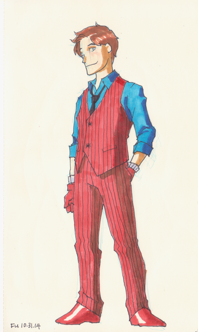 Peter Parker Formal Wear by Daystorm