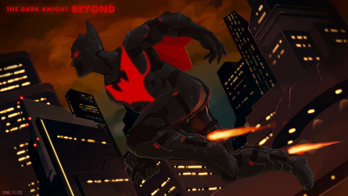 Batman Beyond - Overwatch by Daystorm