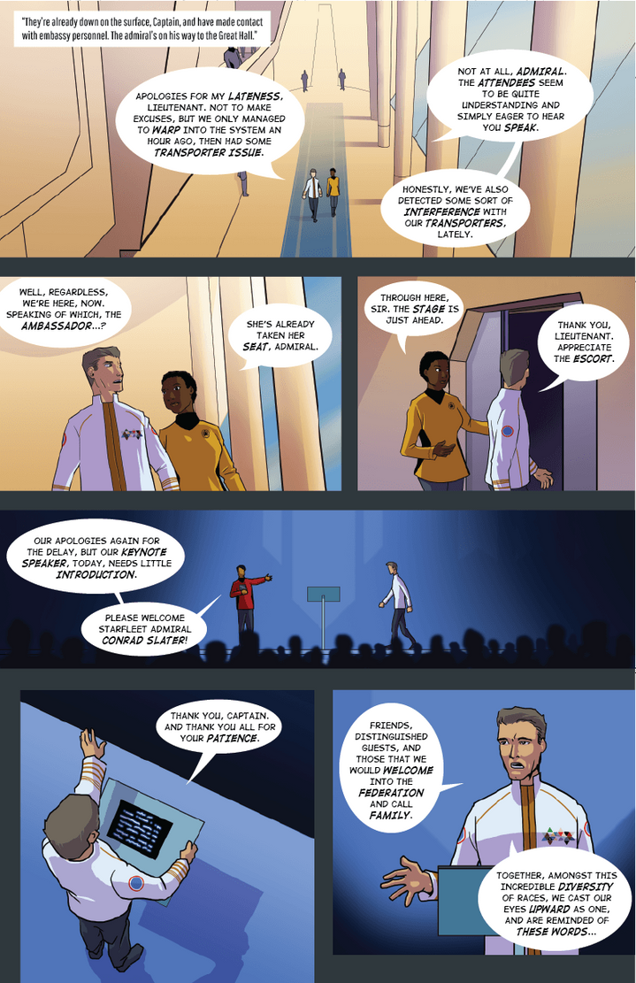 Axanar Comics: Arcanis IV - Page 2 by Daystorm