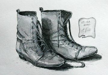 Inktober 2020 Day 29 - shoes