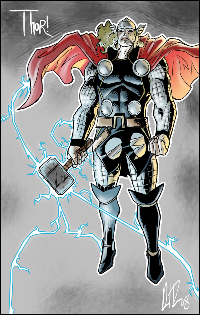 The Mighty Thor by dio-03