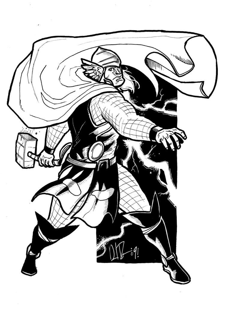 Minnesota Ink'd 03: THOR by dio-03