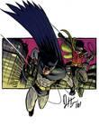 Happy Bat and his Angry Ward