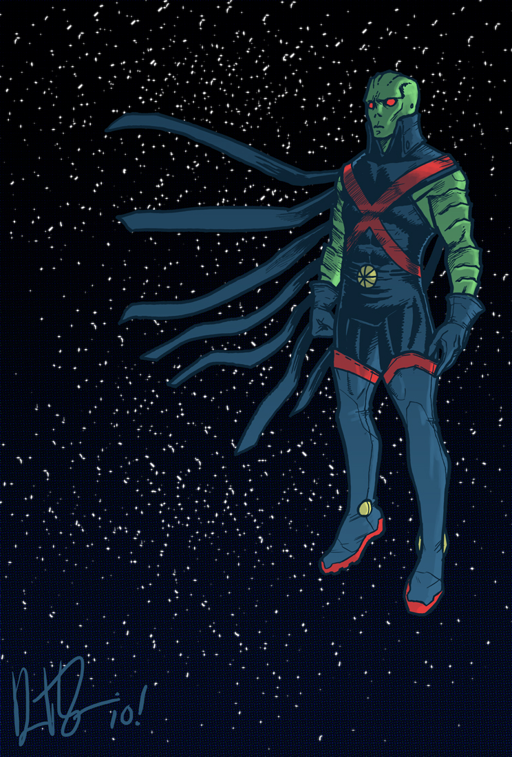 A Martian Manhunter Redesign by dio-03