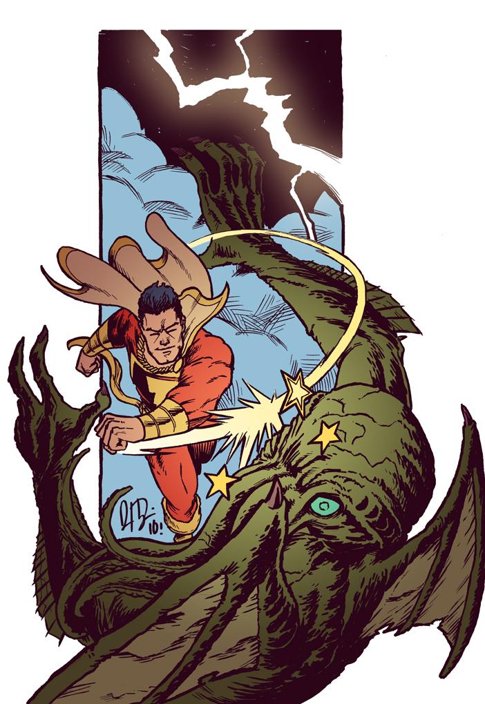 Cap'n Marvel vs. Cthulhu, DUH. by dio-03