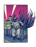 a Grim Batman...