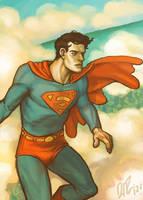 Warm Palette Superman by dio-03