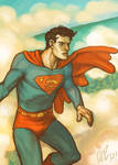 Warm Palette Superman