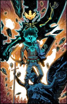 JR's DEMON KINGS Poster Colors