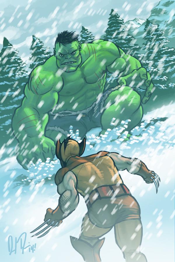 hulk v. wolverine by dio-03