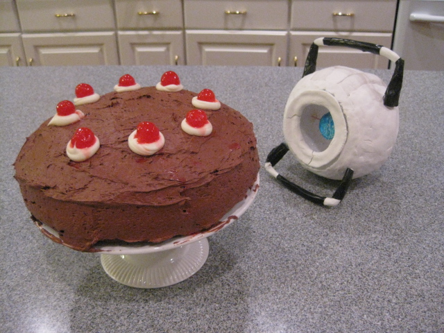 Portal: Real cake! by RaltheCommentator