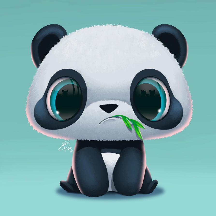 Panda by benson-tjio