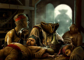 Pirate Tavern by Hofarts