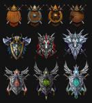 Crests set