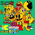 Happy 40th Birthday Pac-Man!