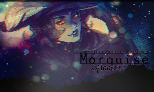 Marquise Spinneret by Carameldanssen