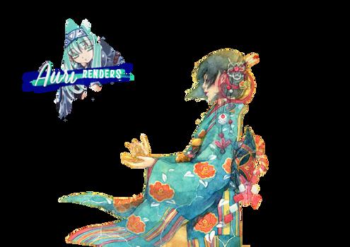 Kimono Girl - Render