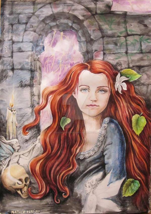 Exploring (a ginger Evanna Lynch) by NataliaFerrino