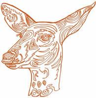 painted doe