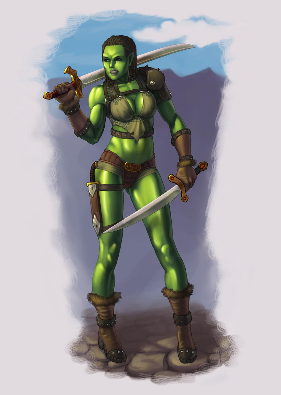 Female elf and orc mini story sex pics